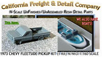 1973 Chevy Fleetside Bed Pickup Kit (1kit) N/1:160-scale Craftsman Cal Freight