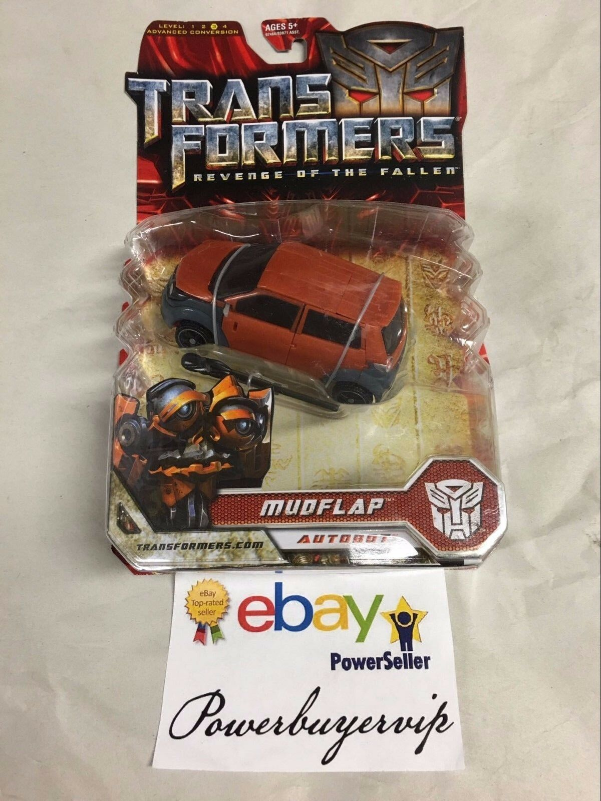 NEW Hasbro Transformers Movie 2 Deluxe MUDFLAP Action Figure 2 DAY GET