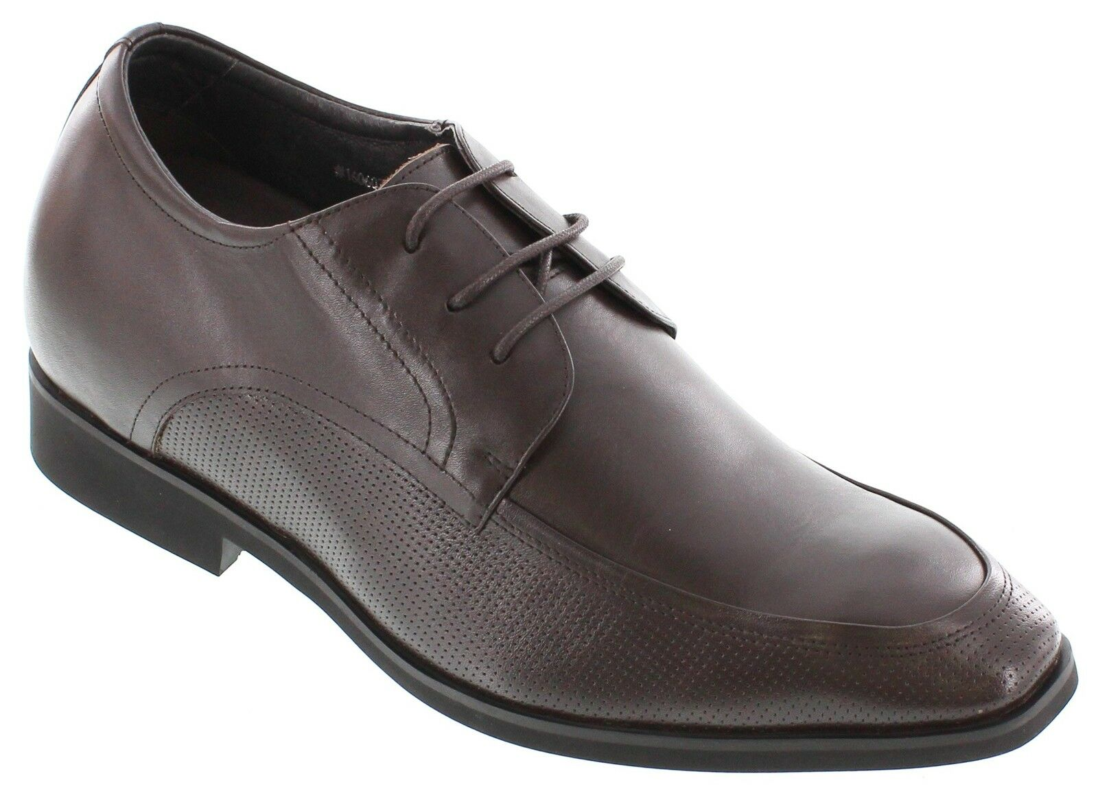 TOTO D09102 - 2.8 Inches Elevator Height Increase Dark Brown Dress Oxfords