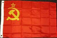 2x3 Ussr Flag Soviet Union Russian Communist Party Banner Communism Pennant