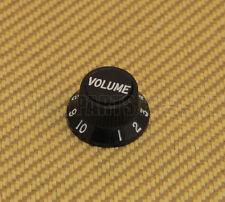 005-9267-029 (1) Fender Complete S-1 S1 Stratocaster Knob Top & Bottom - Black