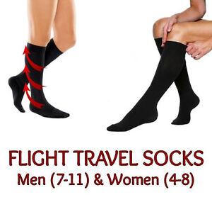f35d8a3a56 Image is loading FLIGHT-TRAVEL-SOCKS-MENS-WOMENS-LONG-HAUL-COMPRESSION-
