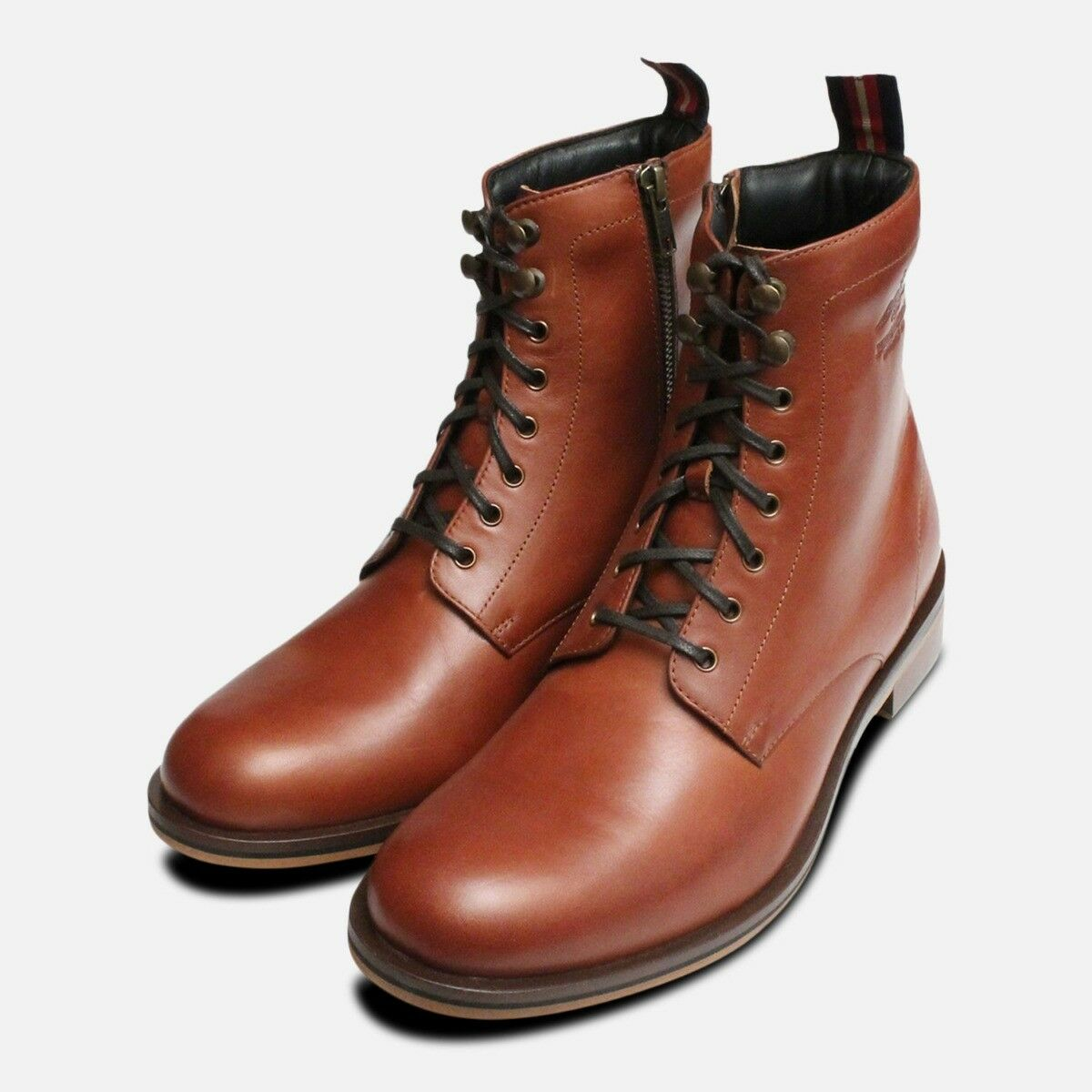 Thomas Partridge Herren Sergeant Stiefel in Chestnut