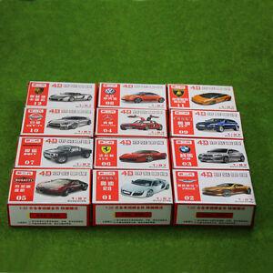 12-PCS-4D-Model-Cars-Assembling-Cars-1-87-HO-Scale-For-Model-Train-Layout-NEW