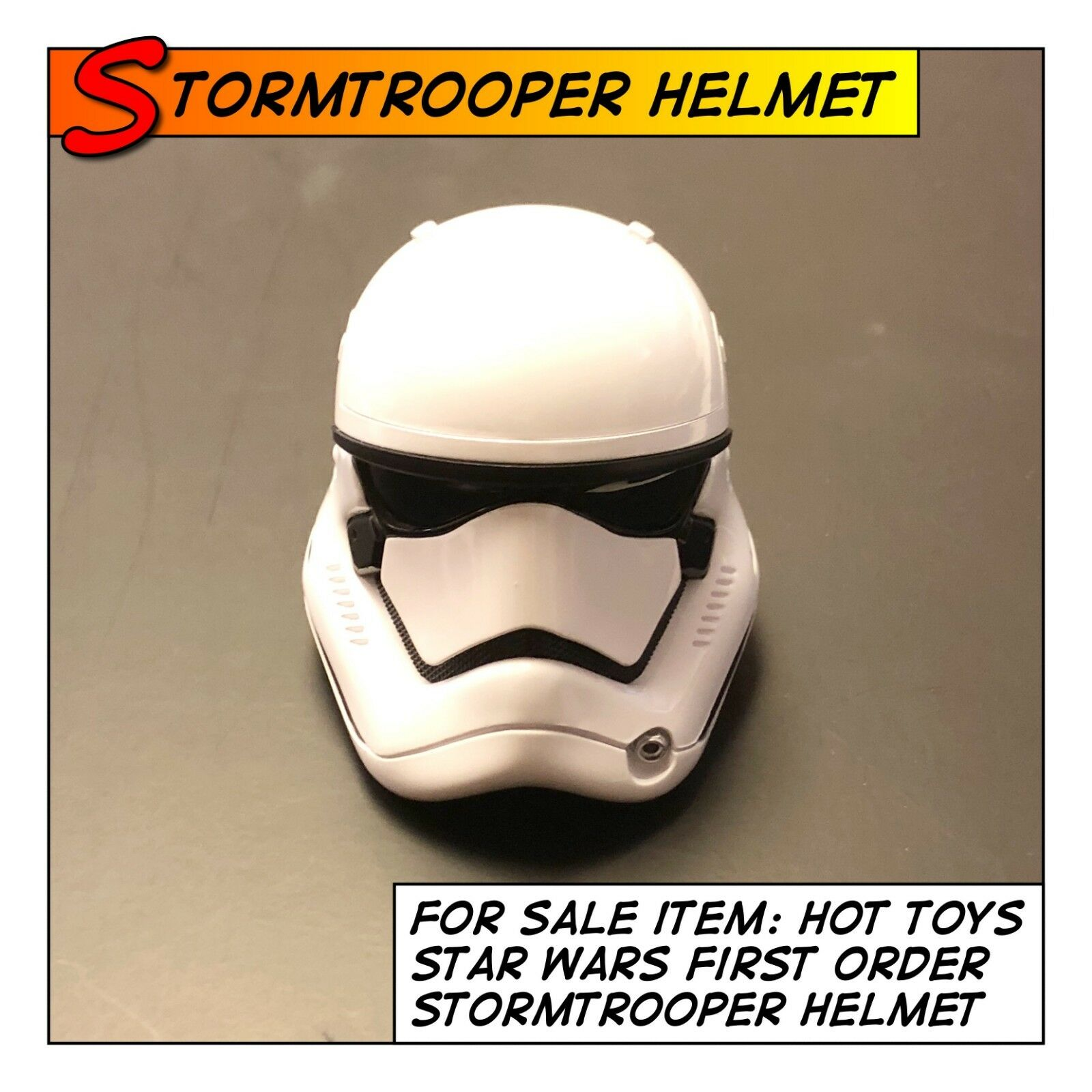 HOT TOYS Star Wars First Order StormTrooper Helmet MMS317 1 6 scale