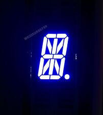 "10pcs 0.8"" inch 1 digit led display 17-seg Alphanumeric Common cathode 阴 BLUE"