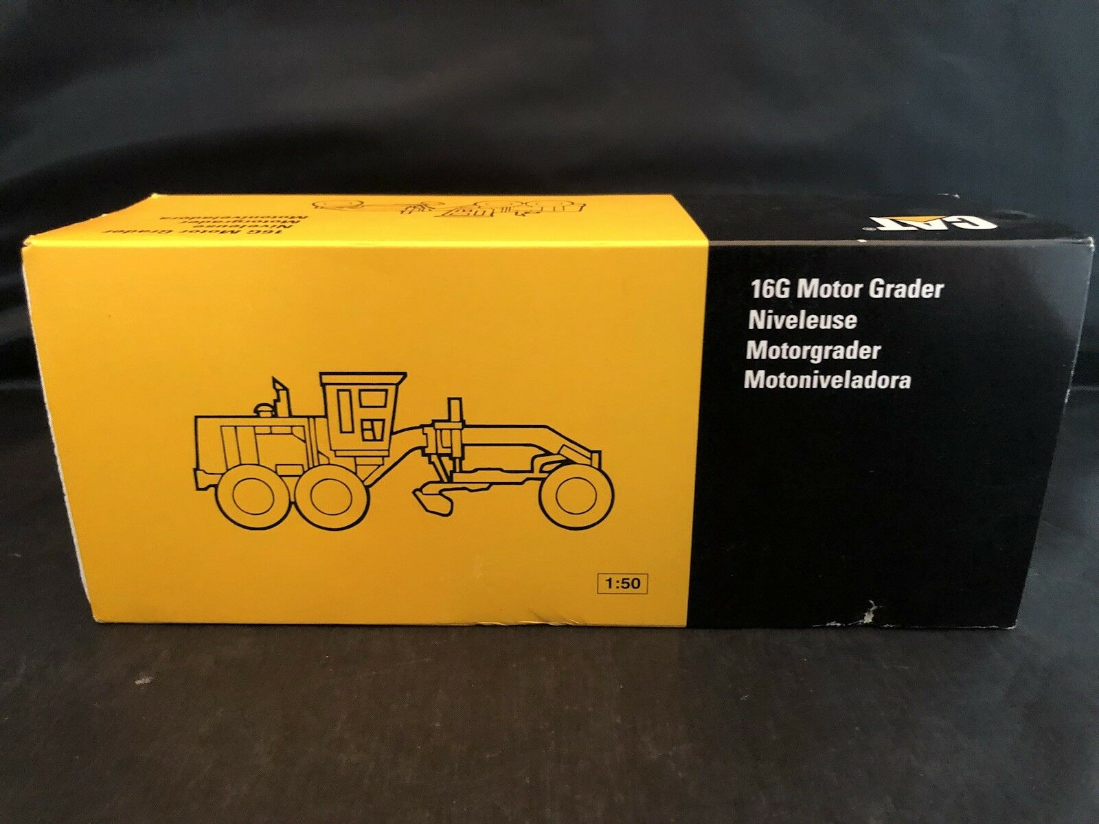 Cat 16G Motor  Grader Diecast NZG No. 387  le plus récent