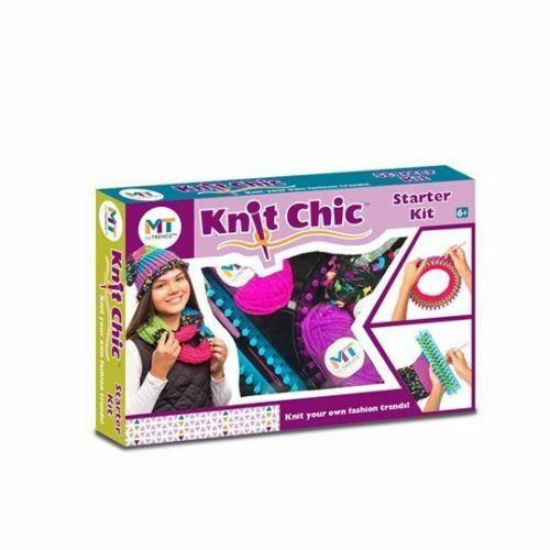 Create Your Own Fashion Beginner Knit Chic Starter Children/'s Knitting Kit