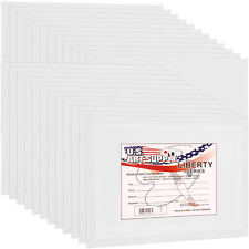 US Art Supply 24-pack of 8 X 10 Inch Professional Artist Quality Acid for