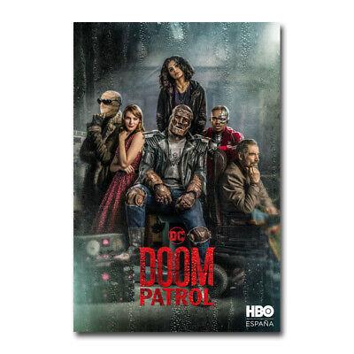 Doom Patrol TV Series 2019 Art Silk Canvas Poster 4 Wall Art Print 24x36 inch