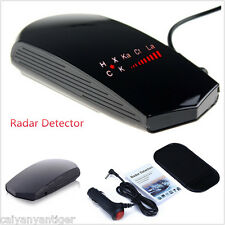 Car Radar Speed Laser GPS Camera Detector Full Band Safety Alarm Voice Display
