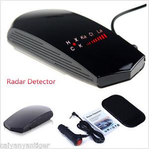 Car Radar Speed Laser GPS Camera Detector Full Band Safety Alarm Voice Display