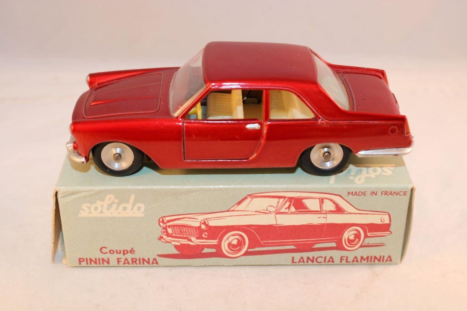 Solido 100 serie no 121 Lancia Flaminia perfect mint in excellent plus box
