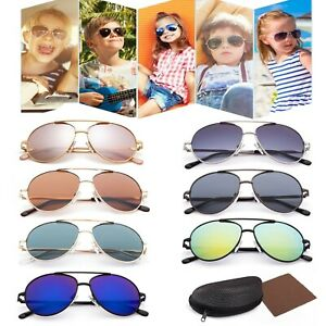 93d1d72af344 Image is loading Vintage-Aviator-Sunglasses-For-Boys-Girls-Kids-Child-