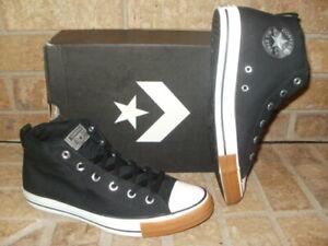 New-Converse-CT-All-Star-Mid-Street-SlipOn-Shoe-162840F-Black-White-MSRP-60