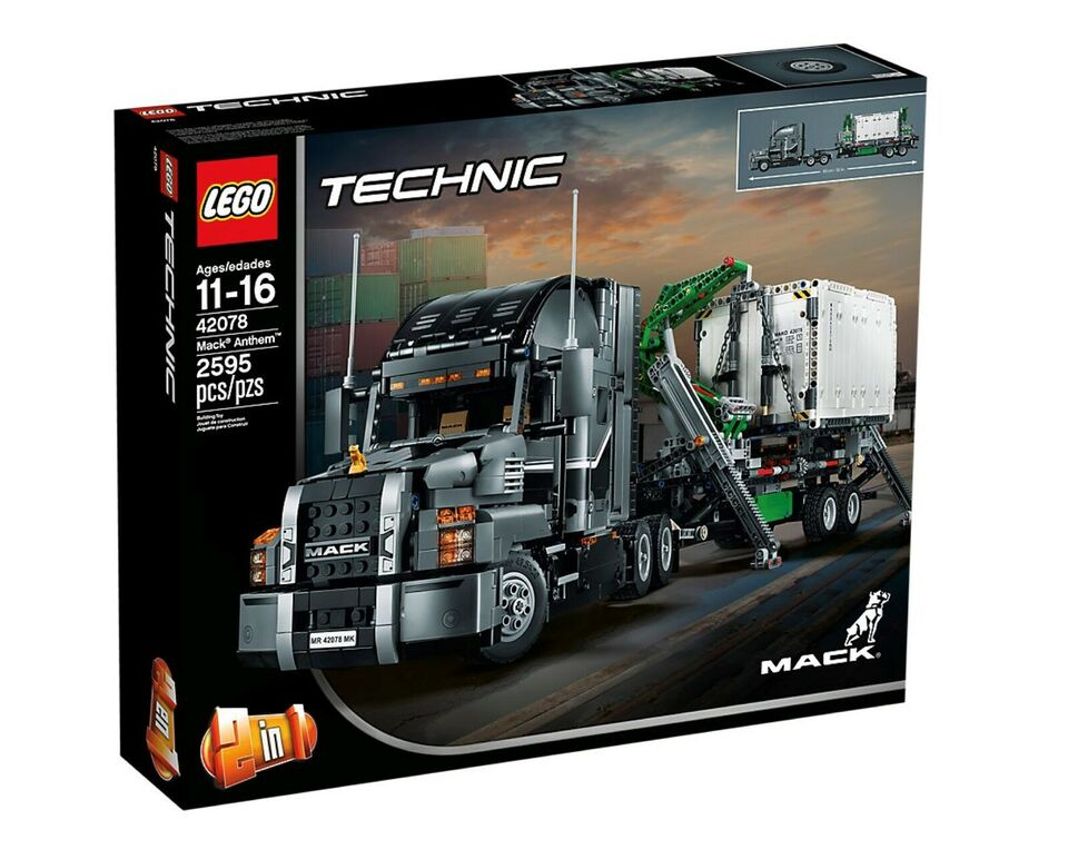 Lego Technic, LEGO Mack Anthem 42078
