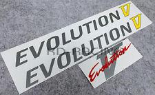 Evolution Evo 5 V Door & Rear Sticker Decals Set CP9A Ralliart GSR FREE SHIP