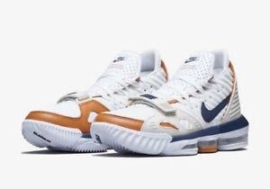 Details zu Nike LeBron 16 XVI size 13. Medicine Ball Air Trainer. Tan Navy White CD7089 100