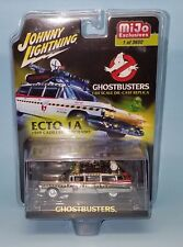 Johnny Lightning 2017 1/64 Chrome Ghostbusters Ecto 1 Mijo