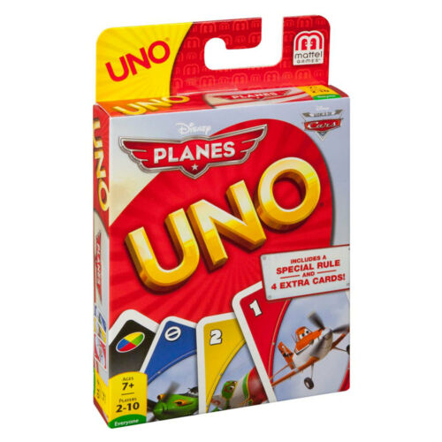 Disney Pixar Planes Uno Card Game Classic Card Game Brand New