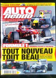 Alerte Auto Hebdo Du 3/02/2011; Monte-carlo; Bouffier Et Peugeot Bluffent Skoda