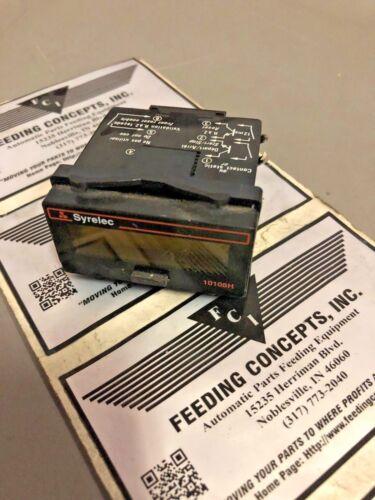 SYRELEC 10108 8-DIGIT DIGITAL COUNTER MODULE 100-240V-DC