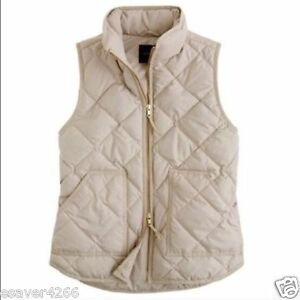 Xxl Bisque Puffer Factory J S L M Xs Quilted Vest Beige 2xs Nyhed crew Xl Nwt 8ZFwCSq8