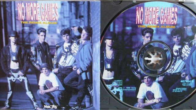 New Kids on the Block/ NKOTB- No More Games- Remix Album- Limited Picture-Disc