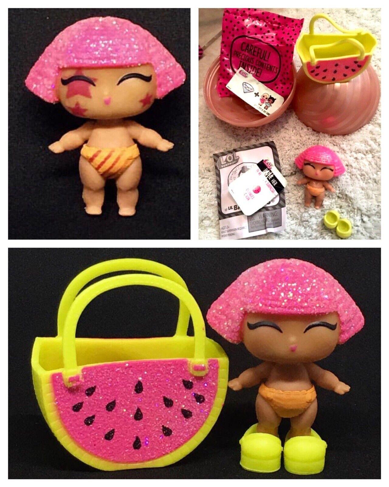Lol Überraschung Puppe Lil Glitter Queen Series2 Gold Ball Sis Komplett Original