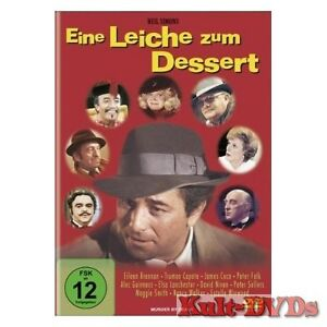Eine-Leiche-zum-Dessert-DVD-Peter-Falk-Peter-Sellers-David-Niven-Neu-OVP