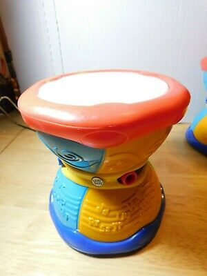 LRN~Leap Frog Learn /& Groove Alphabet Drum English Spanish Music Sounds Lights