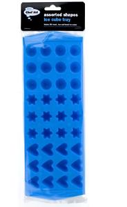 étoile NOUVEAU CHEF AID assortis formes bac à glaçons 36 x rond coeur formes bleu