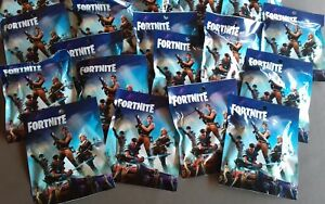 1 BOOSTERS FIGURINES FORTNITE + 3 TRADING CARDS GAME JEUX JOUETS CADEAU NOEL
