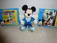 Mickey Mouse Puzzles & Plush Mickey Doll