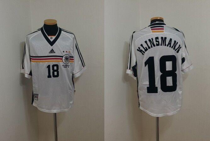 Camiseta Jersey (M) Alemania Klinsmann TOTTENHAM Bayern Trikot EE. UU. fútbol S