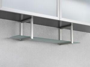 WESCO étagère Structure en verre aluminium inox de cuisine salle ...