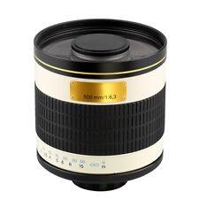 500mm f/6.3 Mirror Lens for Micro 4/3 M4/3 M43 Mount Camera Olympus Panasonic
