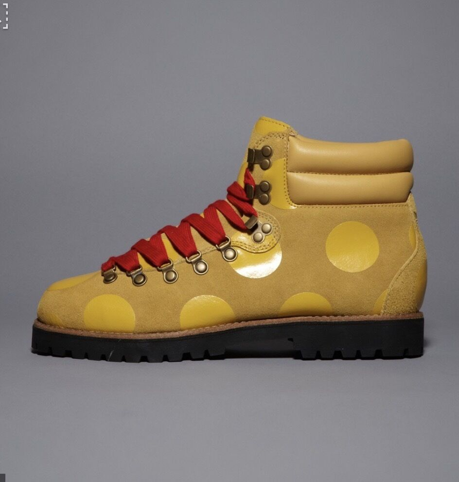 RARE Jeremy Scott Adidas Polka Dot Hiking Boots Originals by Originals NIB auth