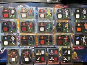 Select Soccer 2016 Patch Relic Uefa Euros Madrid Barcelona Lot 20 Cards Panini