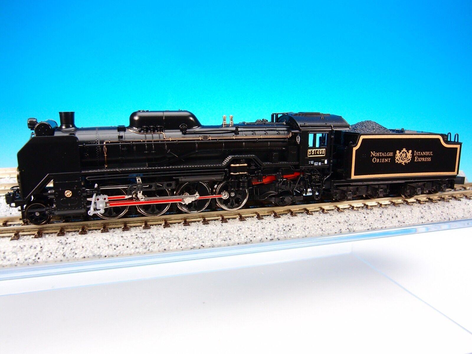 con 60% de descuento KATO 2018-2 JNR Steam Locomotive Type D51-498 Orient Express '88 '88 '88 (N Scale) New  mas barato