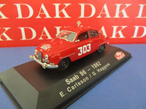 Die cast 1//43 Modellino Auto Saab 96 Rally Monte Carlo 1962 E.Carlsson