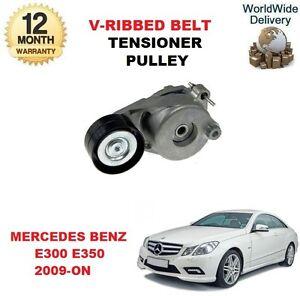 Para-Mercedes-Benz-E300-E350-W212-S212-2009-gt-En-V-Acanalado-Tensor-CORREA-DE-POLEA