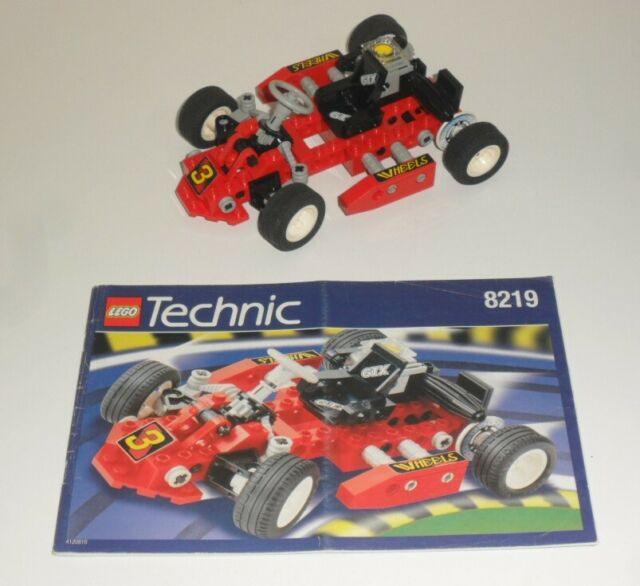 Lego. 8219 Technic. Red Go cart .Very Rare vintage set. Very good condition!.