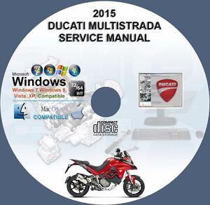 ducati multistrada 1200 1200s 2015 factory workshop service repair rh ebay com multistrada 1200 workshop manual download ducati multistrada 1200 workshop manual