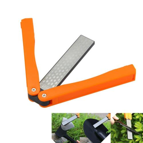 Double Sided Folding Pocket Diamond Blade Sharpening Whetstone Sharpeners LD