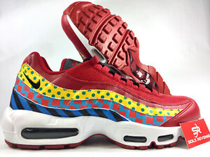 Details about Nike Air Max 95 AD7787 600 Gym RedBlackWhiteGold City Pride Baltimore Home c1
