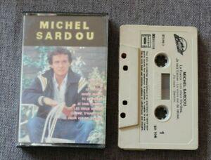 Michel-Sardou-mon-fils-best-of-K7-audio-audio-tape