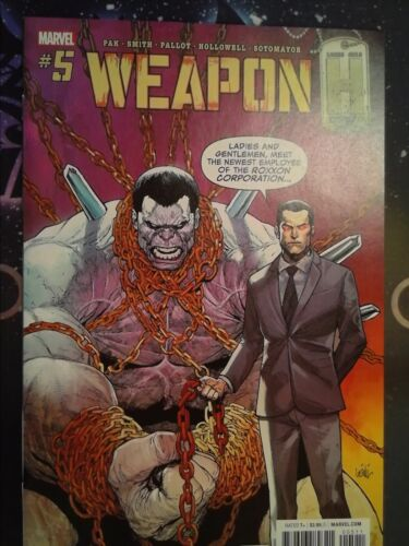 Weapon H #5 Marvel Comics VF//NM 9.0 CB6012