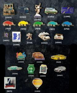 PEUGEOT - TALBOT Pins 1980er bis 2010er Jahre AUSSUCHEN