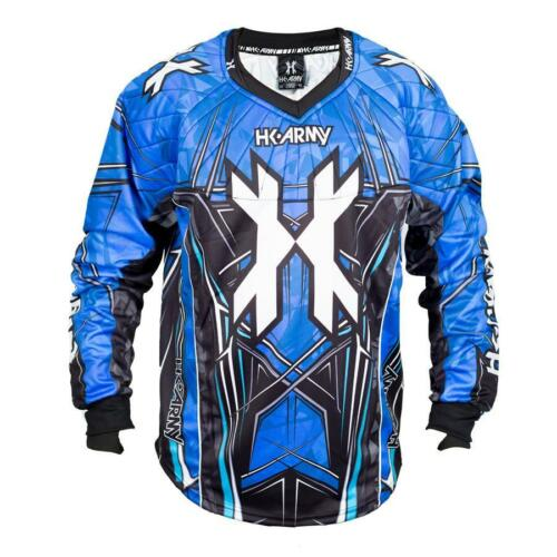 New HK Army Paintball HSTL Line Playing Jersey Blue X-Large XL